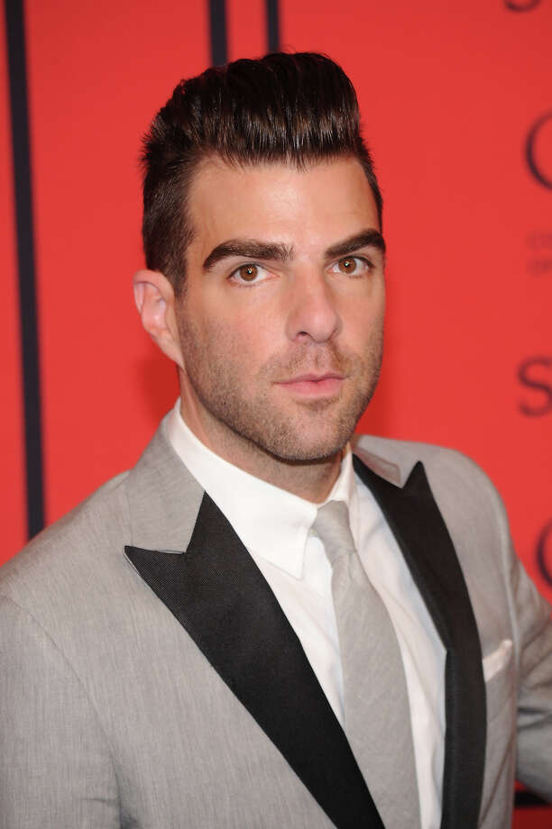 Zachary Quinto attends 2013 CFDA FASHION AWARDS Underwritten By Swarovski - Red Carpet Arrivals at Lincoln Center on June 3, 2013 in New York City. Photo: Bryan Bedder, Getty Images For Swarovski / 2013 Getty Images