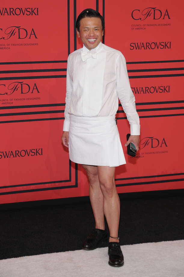 Zang Toi attends 2013 CFDA FASHION AWARDS Underwritten By Swarovski - Red Carpet Arrivals at Lincoln Center on June 3, 2013 in New York City. Photo: Bryan Bedder, Getty Images For Swarovski / 2013 Getty Images