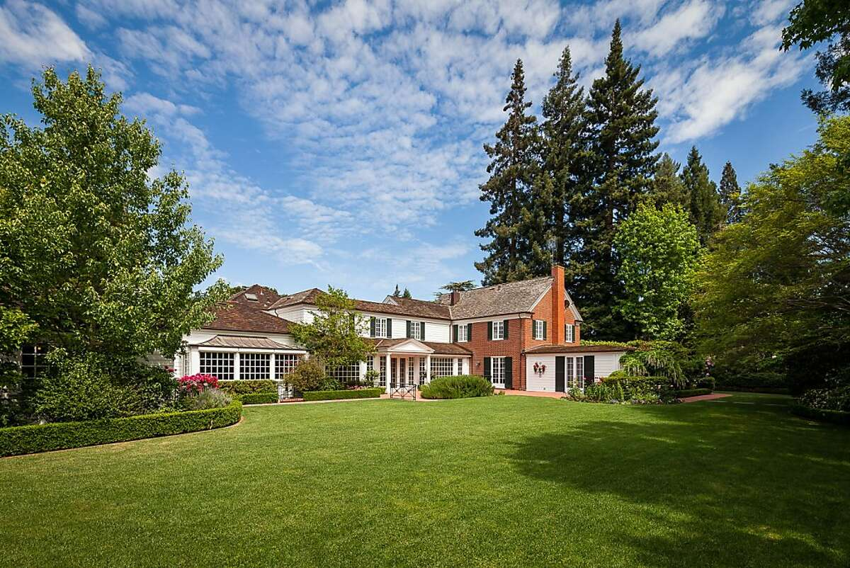 215 Lowell Ave. is a seven-bedroom home set on roughly one acre in Old Palo Alto.