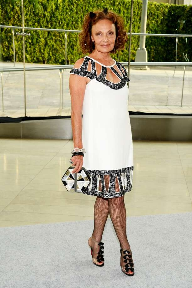 NEW YORK, NY - JUNE 03:  Designer Diane von Furstenberg attends 2013 CFDA Fashion Awards at Alice Tully Hall on June 3, 2013 in New York City.  (Photo by Kevin Mazur/WireImage)
