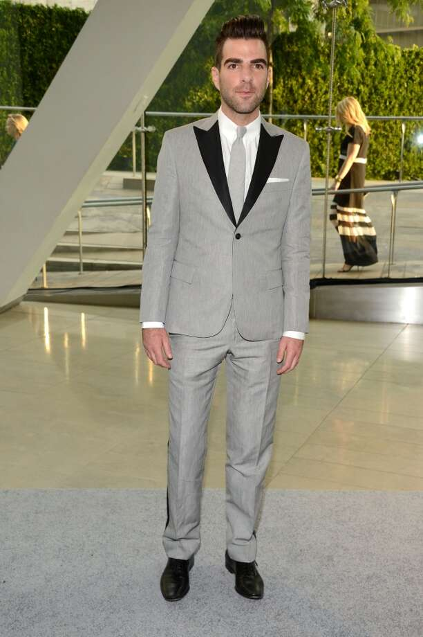 NEW YORK, NY - JUNE 03:  Actor Zachary Quinto attends 2013 CFDA Fashion Awards at Alice Tully Hall on June 3, 2013 in New York City.  (Photo by Kevin Mazur/WireImage)