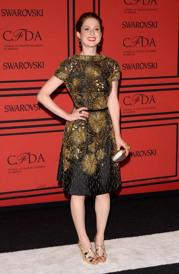 NEW YORK, NY - JUNE 03:  Actress Ellie Kemper attends the 2013 CFDA Fashion Awards on June 3, 2013 in New York, United States.  (Photo by Andrew H. Walker/Getty Images)