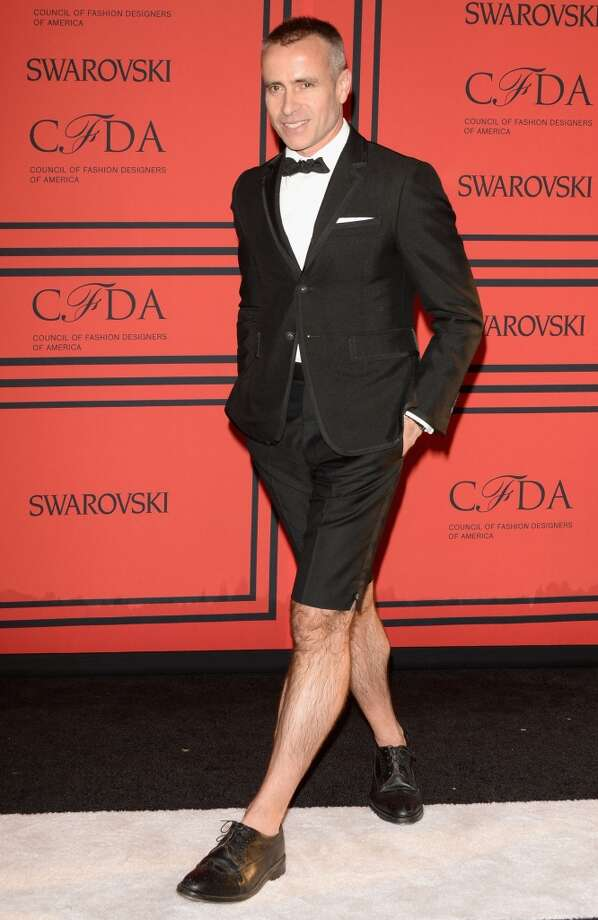 NEW YORK, NY - JUNE 03:  Designer Thom Browne attends the 2013 CFDA Fashion Awards on June 3, 2013 in New York, United States.  (Photo by Andrew H. Walker/Getty Images)