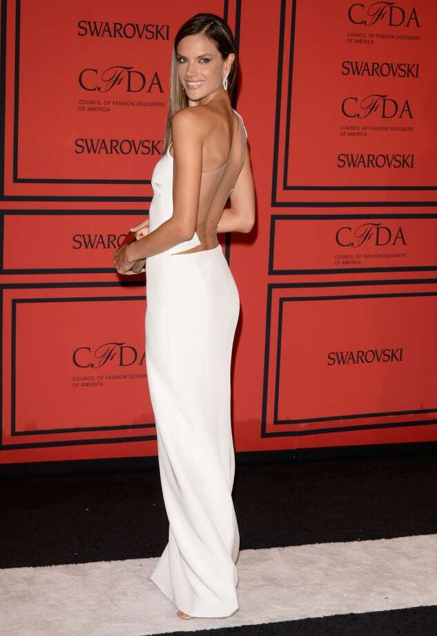 NEW YORK, NY - JUNE 03:  Model Alessandra Ambrosio attends the 2013 CFDA Fashion Awards on June 3, 2013 in New York, United States.  (Photo by Andrew H. Walker/Getty Images)