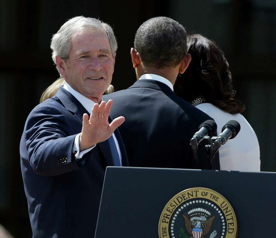 Four percent of people polled would want George W. Bush on currency. (AP) Photo: LM Otero, Associated Press / AP