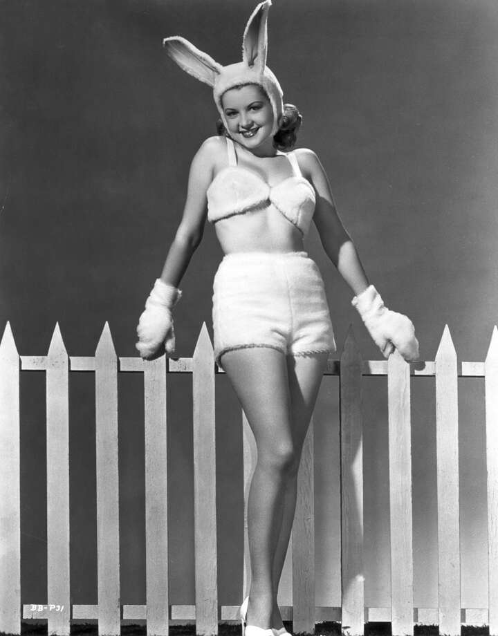 Circa 1945:  actress Barbara Bates
