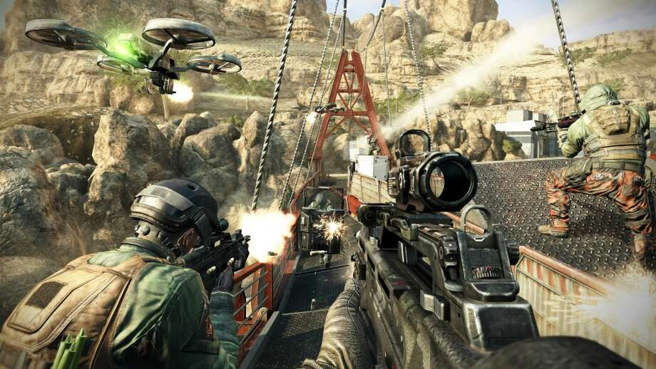 No. 9: Call of Duty: Black Ops II PlayStation 3 Activision First-person shooter Weekly units sold: 14,464 Total units sold: 3,971,900 Number of weeks available: 28