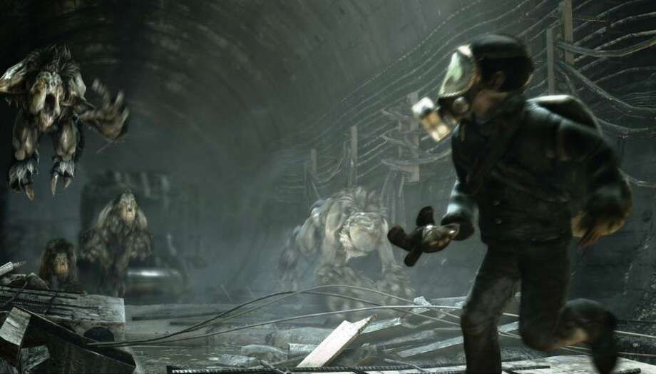 No. 3: Metro: Last Light Xbox 360 DeepSilver First-person shooter Weekly units sold: 21,827 Total units sold: 98,677 Number of weeks available: 2 Photo: Courtesy Deep Silver