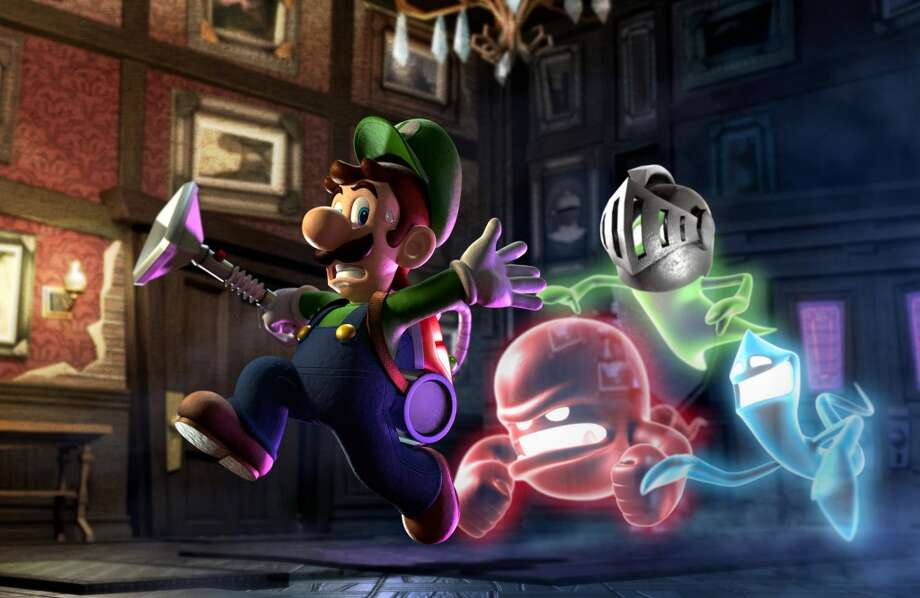 No. 2: Luigi's Mansion: Dark Moon Nintendo 3DS Nintendo Action-adventure Weekly units sold: 29,370 Total units sold: 673,161 Number of weeks available: 9