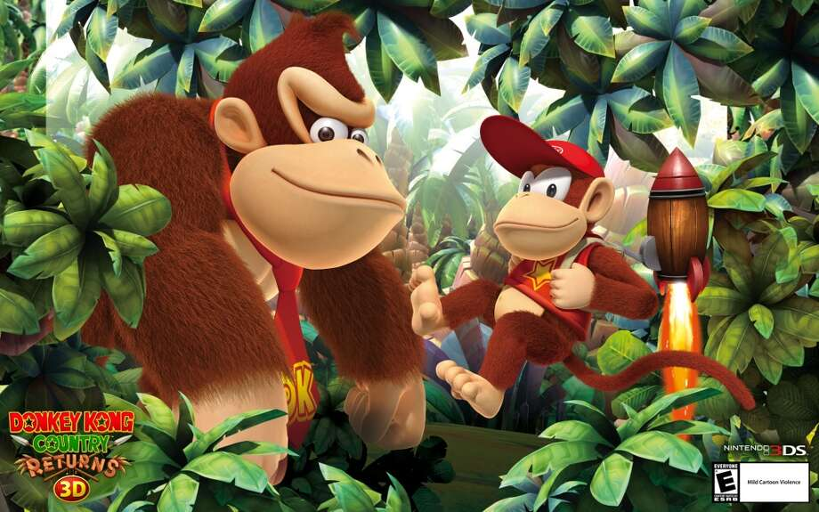 No. 1: Donkey Kong Country Returns 3D Nintendo 3DS Nintendo Platformer Weekly units sold: 67,206 Total units sold: 67,206 Number of weeks available: 1