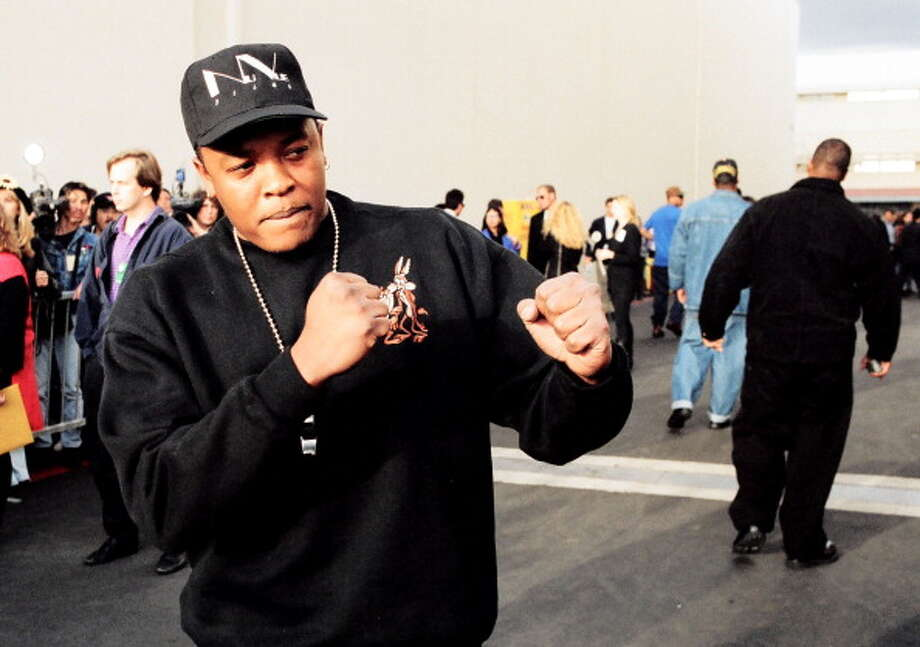 """Hip-hop: Dr. Dre- """"The Chronic""""Dr. Dre's  beloved solo debut mixed the gangster rap angst with a funkadelic aesthetic to make a record full of summer bangers.Standout track: """"Let Me Ride"""" Photo: Jeff Kravitz, Getty / FilmMagic, Inc"""