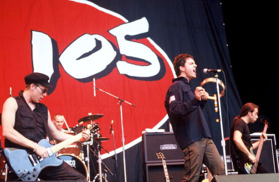 """1990s alternative: Third Eye Blind- s/tThird Eye Blind ruled the radio with its self-titled album. Every one was singing along to  """"Semi-Charmed Life"""" in the summer of 1997.Standout track: """"Semi-Charmed Life"""" Photo: Tim Mosenfelder, Getty / 2005 Tim Mosenfelder"""