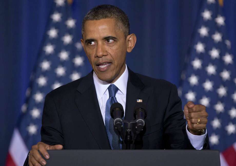 President Barack Obama may say it's time for the war on terror to be over, but that doesn't make it so. The strategy has changed, but the war continues. Photo: Associated Press