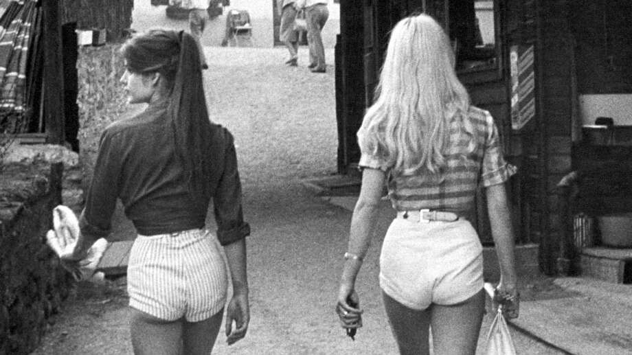 Short shorts have long been a popular style choice. Click through the gallery for a photo history of this controversial and iconic women's fashion trend. / Time Life Pictures