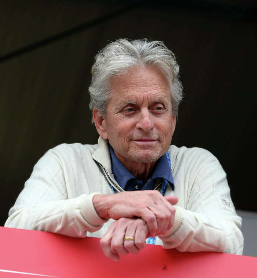 Actor Michael Douglas at the Monaco racetrack in Monaco, Saturday, May 25, 2013. Photo: Luca Bruno, AP Photo/Luca Bruno / Associated Press