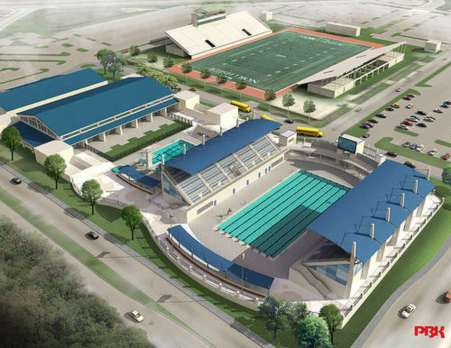 The Northside Swim Center, in partnership with San Antonio Sports, will be the site of the 2015 U.S. Masters Swimming National Short Course Championship. The center is scheduled to be dedicated later this month. Photo: Northside ISD / Courtesy Illustration