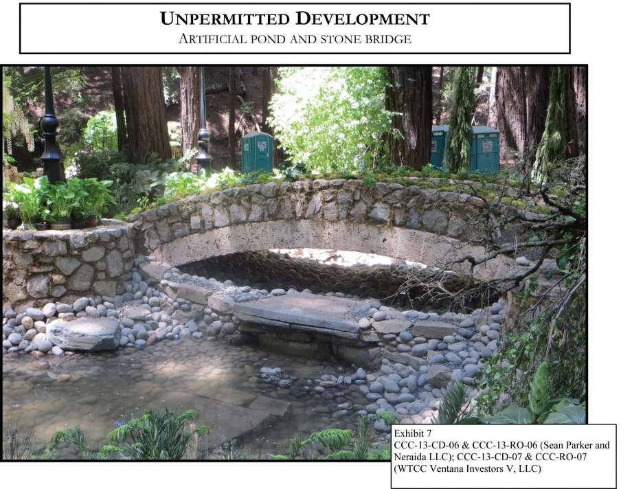 "Construction of fake bridges, walls and waterways (with no environmental consideration) could harm the nearby breeding ground for steelhead trout, according to the California Coastal Commission. Steelhead trout are currently considered a ""threatened"" species by the federal government."