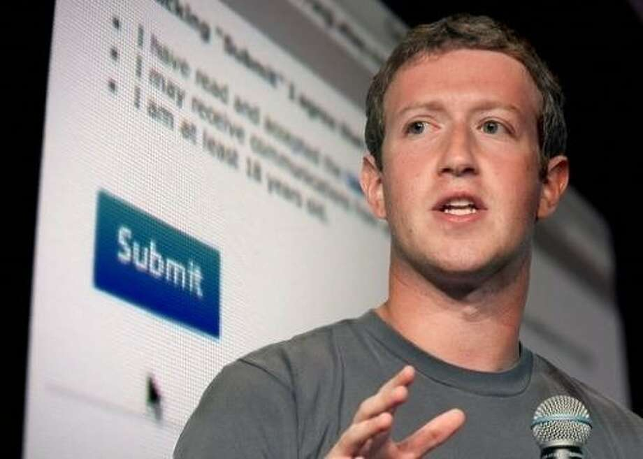 Facebook founder Mark Zuckerberg is featured in the documentary. Photo: DocFest