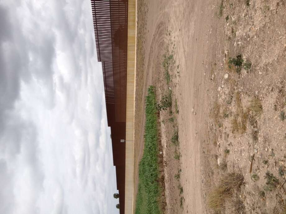 A section of the U.S. border fence just south of Brownsville is geared to hinder illegal crossings.