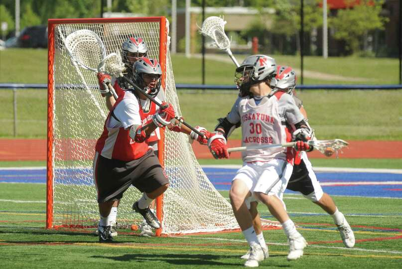 The Niskayuna boys' lacrosse team practices for Wednesday's state semifinal game on Tuesday June 4,
