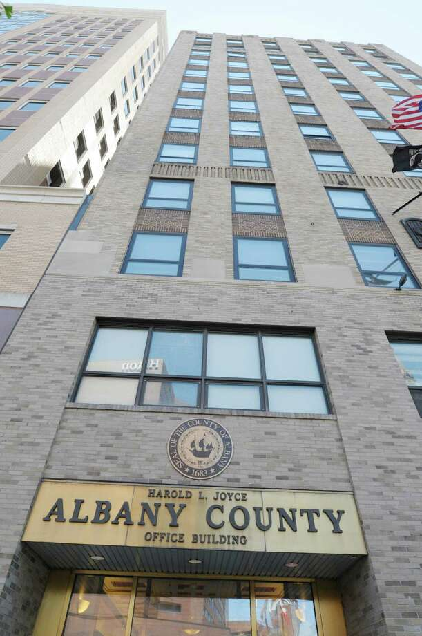 A view of the building at 112 State St., Albany, where Albany County has some of its offices, seen here on Tuesday, June 4, 2013 in Albany. A floor of the building is proposed as a satellite for the Schenectady County Community College. (Paul Buckowski) Photo: Paul Buckowski