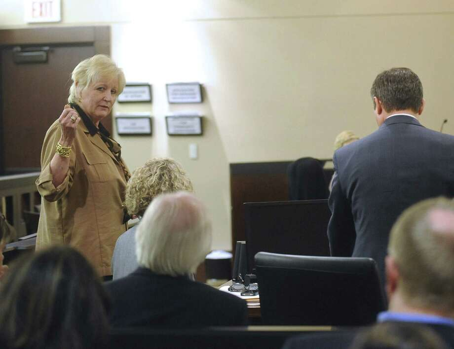 District Attorney Susan Reed denies ever having sexual relations with Dr. Calvin Day. Photo: Billy Calzada / San Antonio Express-News
