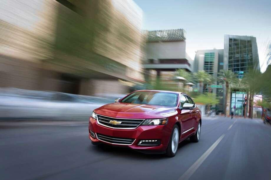 2014 Chevrolet Impala Photo: Chevrolet