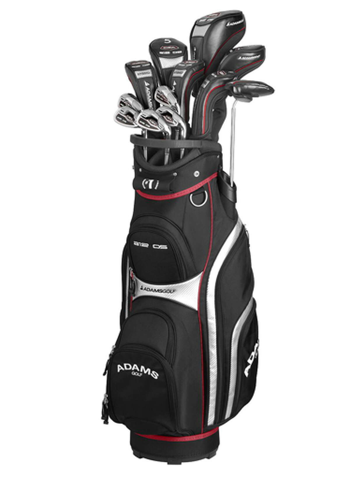 Adams If he spends a lot of time on the putting green. A12 OS 12-piece Golf Set ($699.99) by Adams, golfsmith.com