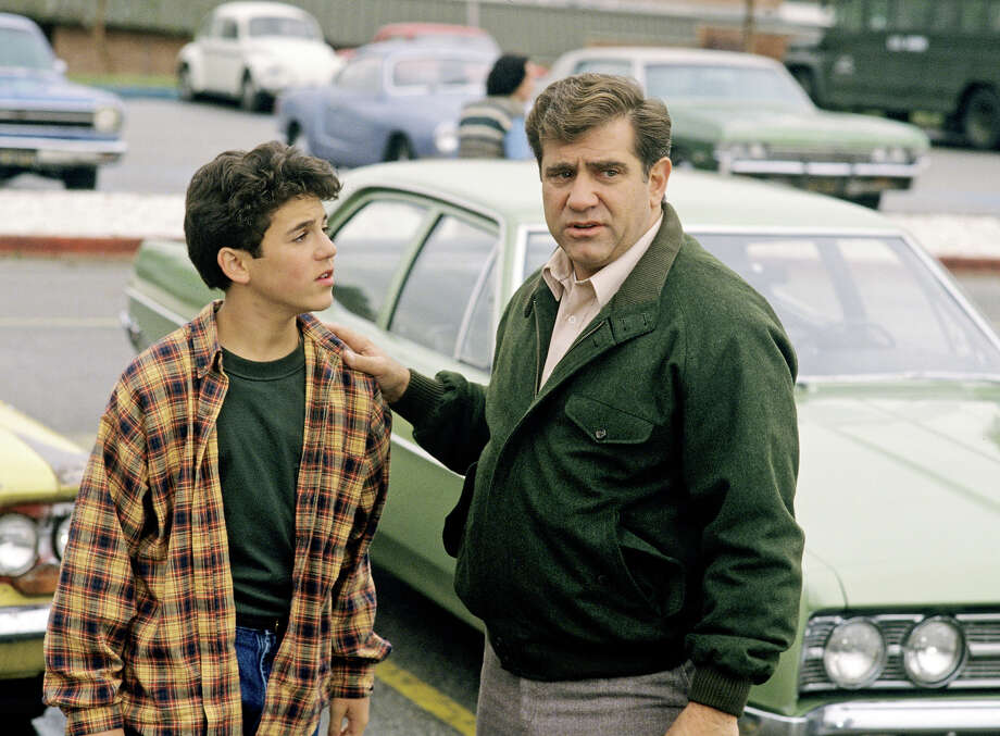 "Show:The Wonder YearsDad: Jack Arnold (Dan Lauria)Fatherly advice: ""Don't ever get old, Kev."" Photo: ABC Photo Archives, ABC Photo Archives/Getty Images / 1992 American Broadcasting Companies, Inc."
