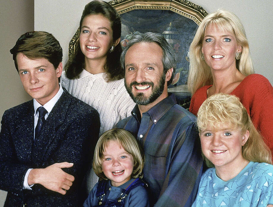 """Show:Family TiesDad: Steven Keaton (Michael Gross)Fatherly advice: """"Alex, parents are conditioned to put up with a few minor accidents when  they leave their children home alone. A broken vase, spilt milk on the  rug... There was a kangaroo... in my living room."""" Photo: NBC, NBC Via Getty Images / © NBC Universal, Inc."""