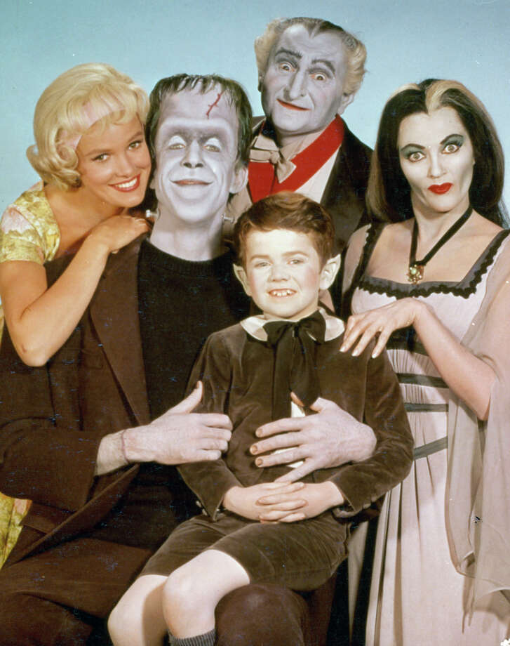"Show: The MunstersDad: Herman Munster (Fred Gwynne)Fatherly advice: ""Oh goody!"" Photo: Archive Photos, Getty Images / 2012 Getty Images"