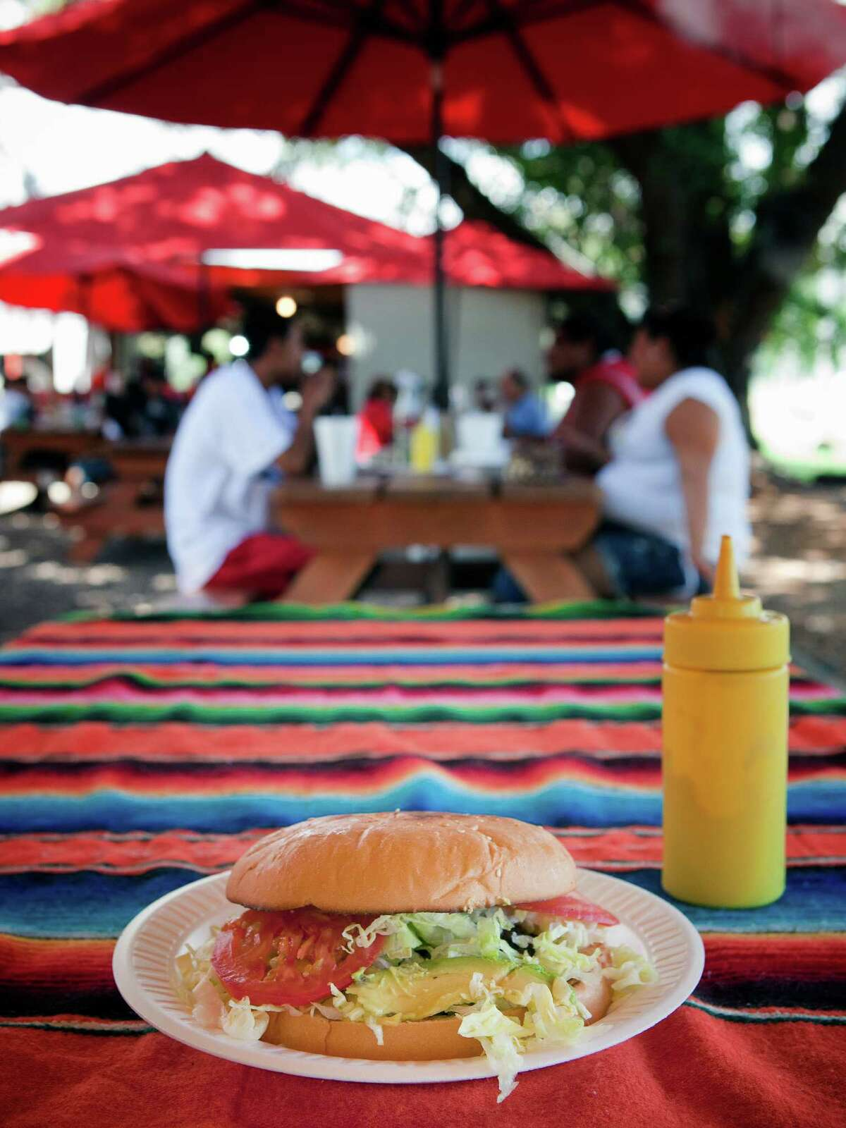 Images of Karancho's taco camp in Channelview, Texas taken on Saturday, July 30, 2011. (Todd Spoth for the Chronicle)