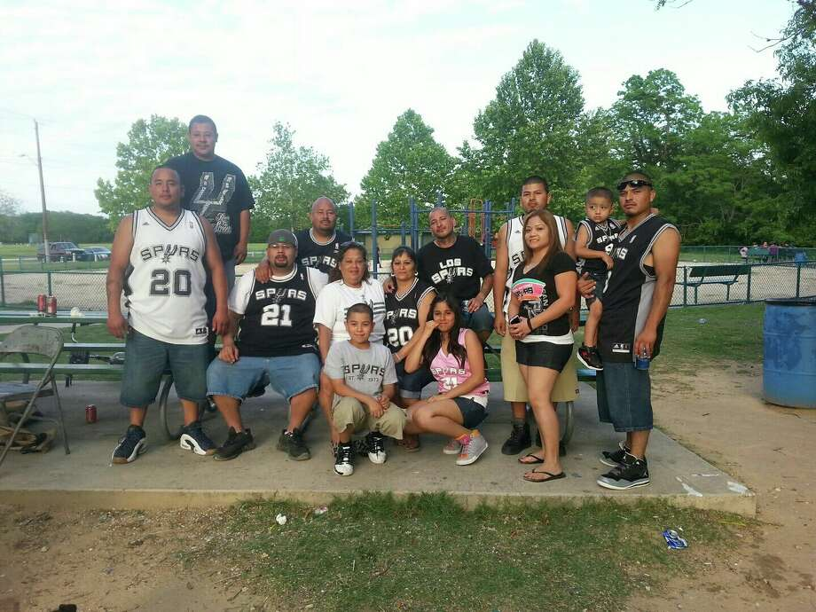 Spurs Family enjoying a great Mother's Day at Rodriguez Park while listening to the game on the radio.  Love our Spurs for LifeShare your Spurs fan photos here. Photo: Courtesy