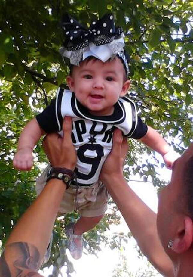 No. 1 Spurs fan Photo: Courtesy