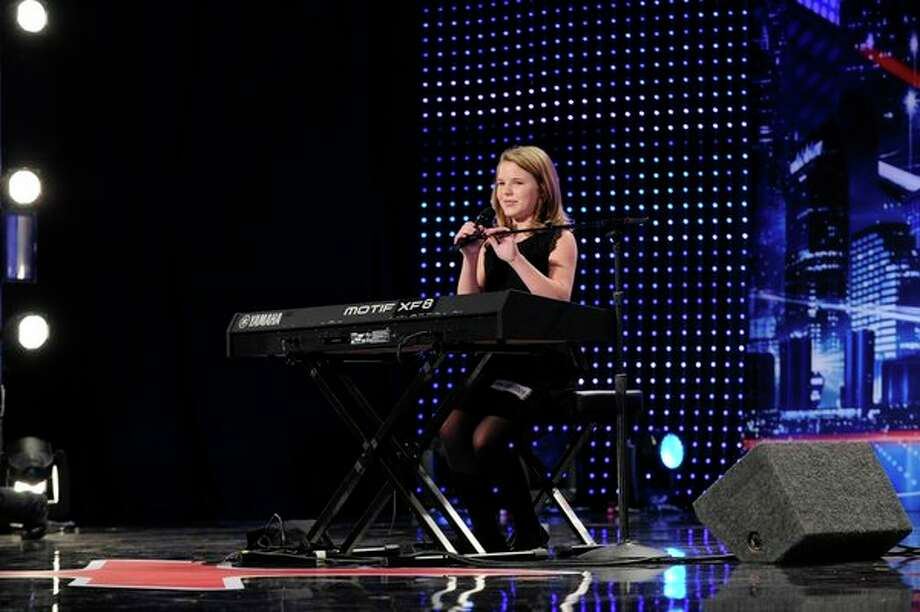 AMERICA'S GOT TALENT -- 10-year-old Anna Christine wows judges with her mature voice. Photo: NBC, Virginia Sherwood/NBC / 2013 NBCUniversal Media, LLC.