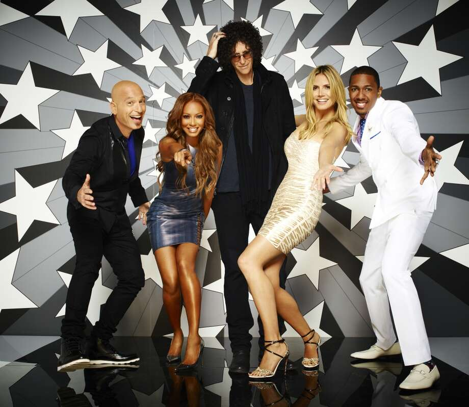 AMERICA'S GOT TALENT -- Season:8 -- Pictured: (l-r) Howie Mandel, Mel B, Howard Stern, Heidi Klum, Nick Cannon -- (Photo by: Andrew Eccles/NBC) Photo: NBC, Andrew Eccles/NBC