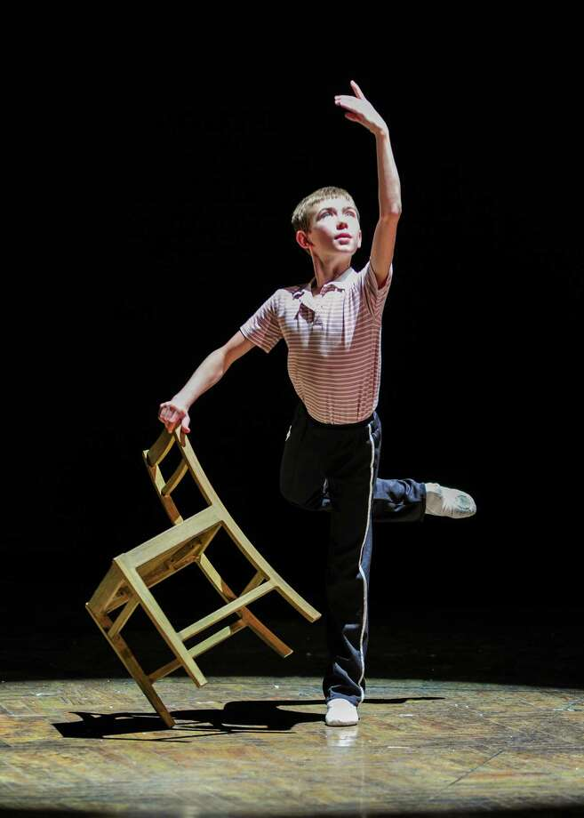 "Drew Minard (Billy) in ""Billy Elliot the Musical.""  Photo by Amy Boyle Photo: Amy Boyle"