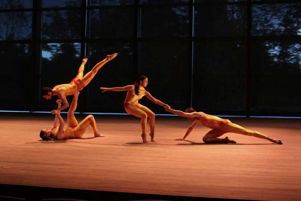 Elana Jacobs, Jacob Goodhart, Christy Williams, and Jesse Kovarsky in A Swing and a Miss. Photo credit: Steve Nealy