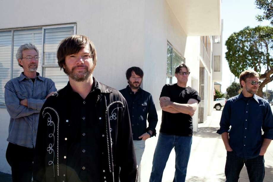 Son Volt are: Gary Hunt, Jay Farrar, Dave Bryson, Mark Spencer, Andrew Duplantis (Photo: Emily Nathan)