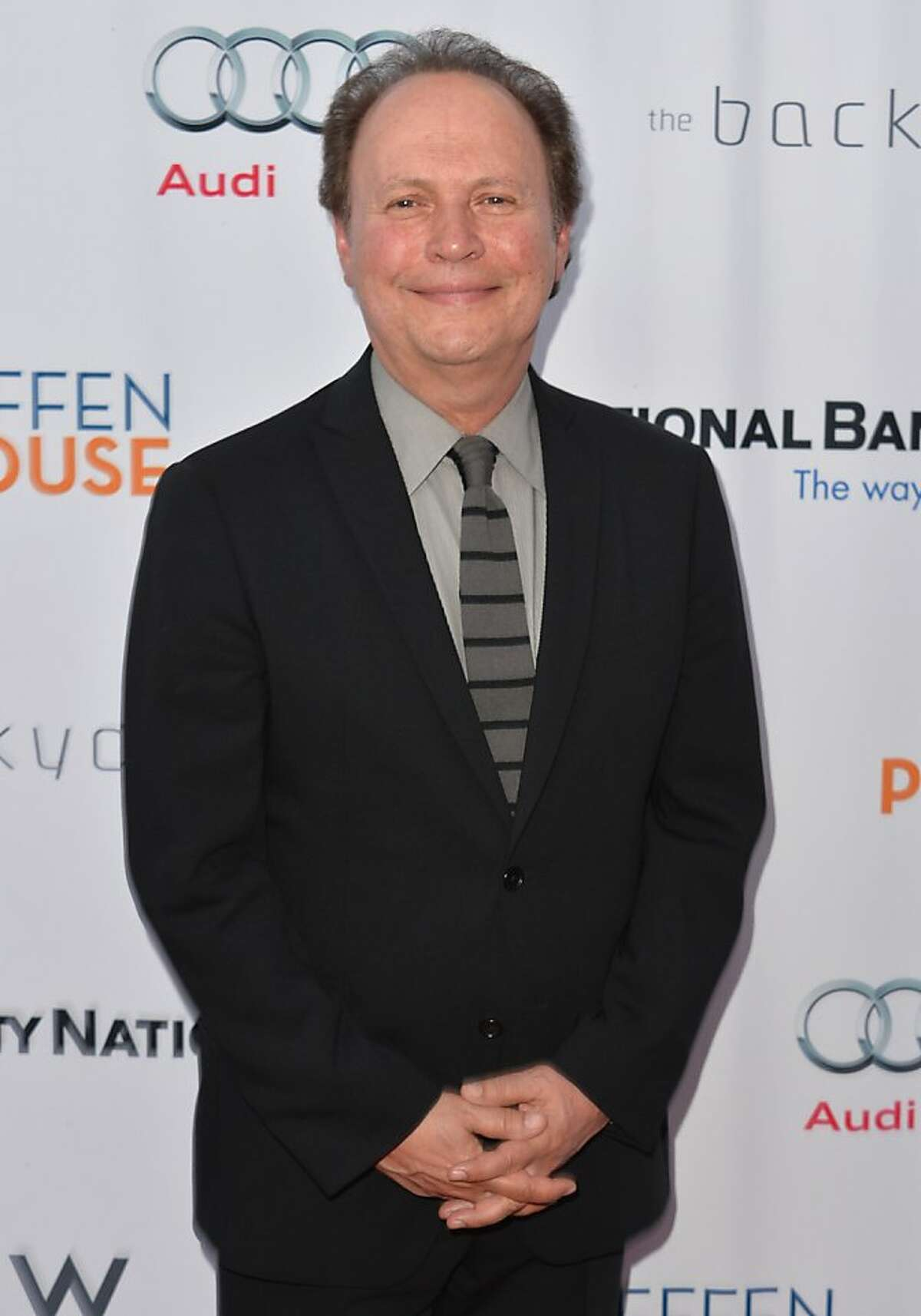 """LOS ANGELES, CA - MAY 13: Actor Billy Crystal arrives to The Geffen Playhouse's Annual """"Backstage at the Geffen"""" Gala at Geffen Playhouse on May 13, 2013 in Los Angeles, California. (Photo by Alberto E. Rodriguez/Getty Images)"""