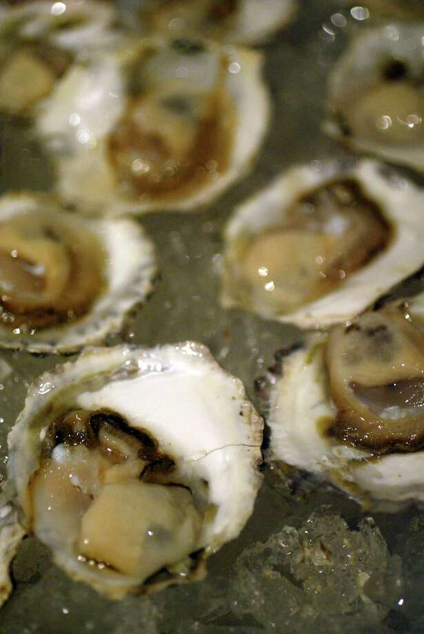 """Olympia oysters, mostly cultivated in the Totten and Little Skookum inlets, are known for a """"sweet, metallic, celery-salt flavor,"""" says Rowan Jacobsen in The Oyster Guide. Photo: Karen Ducey, Seattle Post-Intelligencer / Seattle Post-Intelligencer"""