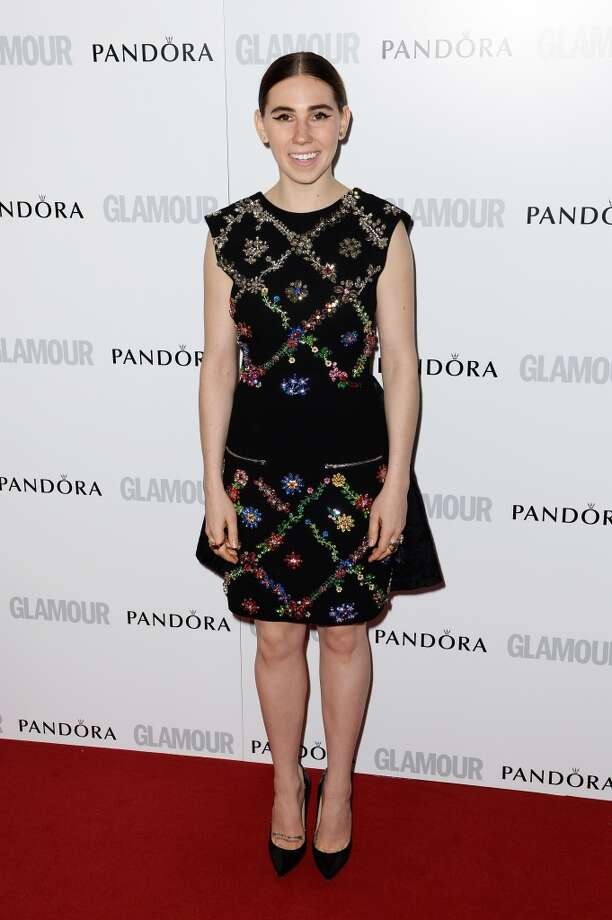 LONDON, ENGLAND - JUNE 04:  Zosia Mamet attends Glamour Women of the Year Awards 2013 at Berkeley Square Gardens on June 4, 2013 in London, England.  (Photo by Gareth Cattermole/Getty Images)