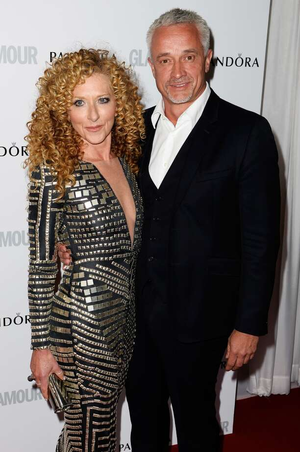 LONDON, ENGLAND - JUNE 04:  Kelly Hoppen and John Gardiner attend Glamour Women of the Year Awards 2013 at Berkeley Square Gardens on June 4, 2013 in London, England.  (Photo by Gareth Cattermole/Getty Images)