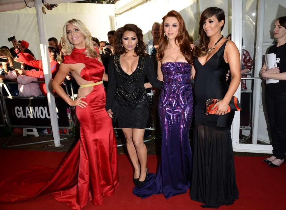 LONDON, ENGLAND - JUNE 04:  Mollie King, Vanessa White, Una Healy and Frankie Sandford of the Saturdays attend the Glamour Women of the Year Awards 2013 at Berkeley Square Gardens on June 4, 2013 in London, England.  (Photo by Karwai Tang/Getty Images)