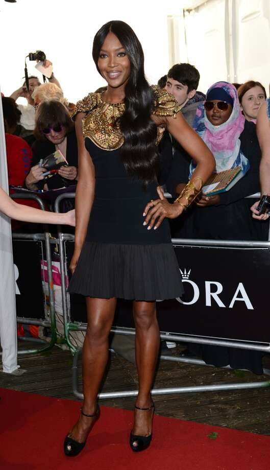 LONDON, ENGLAND - JUNE 04:  Naomi Campbell attends the Glamour Women of the Year Awards 2013 at Berkeley Square Gardens on June 4, 2013 in London, England.  (Photo by Karwai Tang/Getty Images)