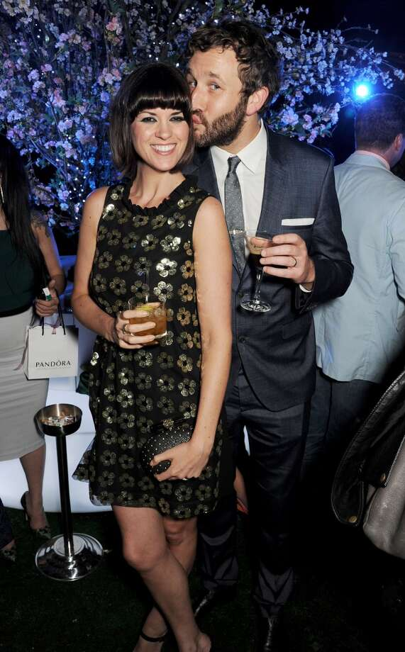 Dawn Porter (L) and Chris O'Dowd attend an after party following the Glamour Women of the Year Awards in association with Pandora at Berkeley Square Gardens on June 4, 2013 in London, England.  (Photo by Dave M. Benett/Getty Images for Pandora)