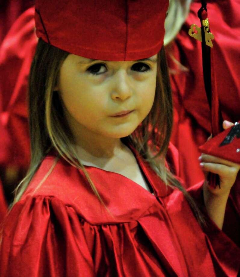 Kountze Elementary School hosted its kindergarten graduation June 4 at the high school. Photo: Cassie Smith