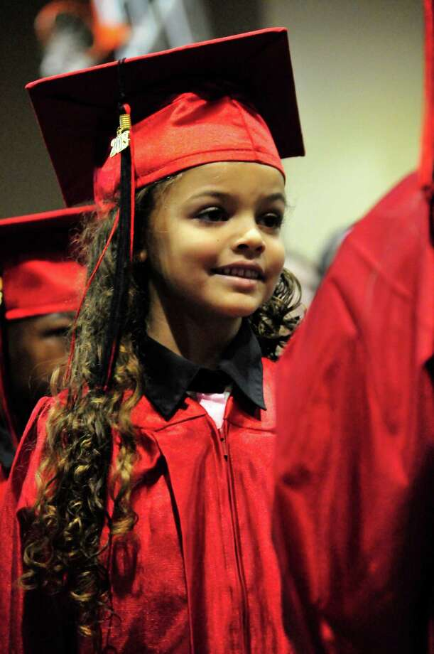 Kountze Elementary School hosted its kindergarten graduation June 4 at the high school. Photo: Cassie Smith