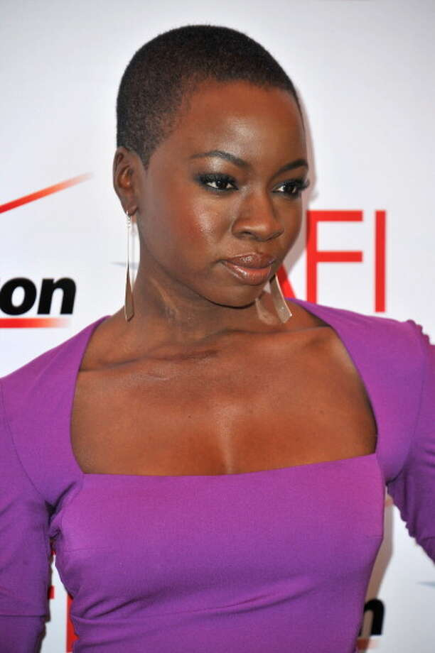 Danai Gurira slays zombies on The Walking Dead, but can she beat out a UFC champ for the Jean-Claude Gahd Dam award? Photo: Alberto E. Rodriguez, Getty Images / 2013 Getty Images