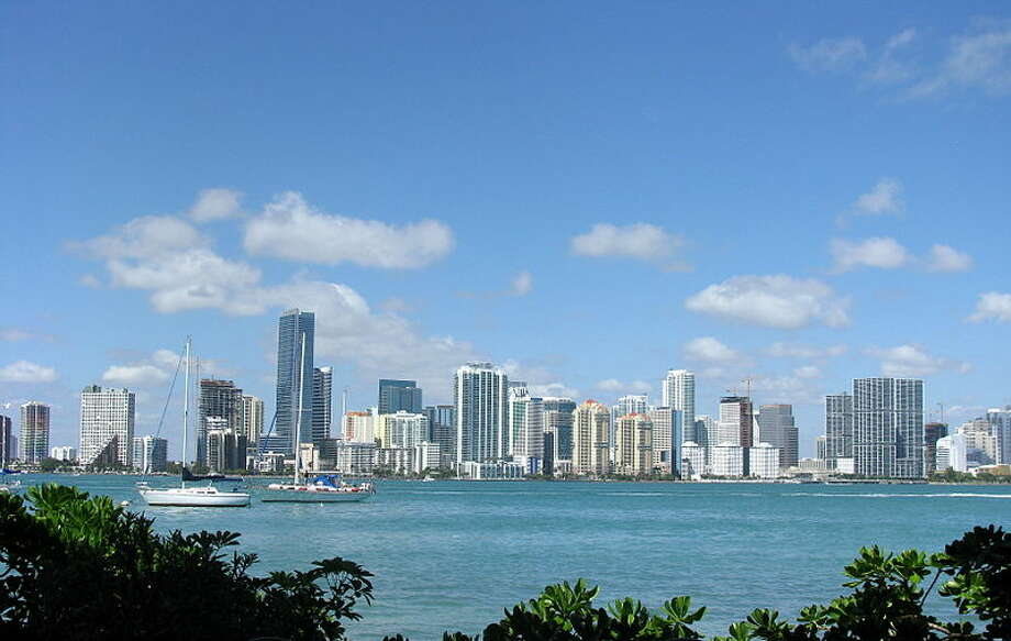 In 2011, Forbes rated Miami, Fla., as the most miserable city in the county. At time, according to the website, 364,000 foreclosures took place in Miami since 2008, as a result of the housing crisis. Forbes rated the cities based on 10 different factors, such as taxes, commute time and violent crime. Two hundred metro areas were evaluated. Photo: Marc Averette,  Wikimedia Commons